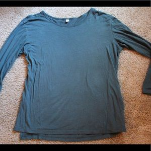BP Long sleeve green tee
